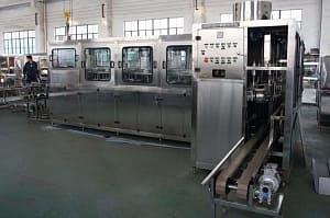 Моноблок розлива QGF-600, 600 бут/час